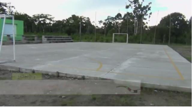 Nueva infraestructura deportiva para cabildo indígena Juan Cristobal (San Miguel)
