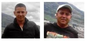 Jhon Jairo Melo y Omar Pantoja