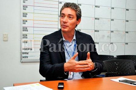 David Andrade, director en el suroccidente de la Superservicios. Archivo de El País.
