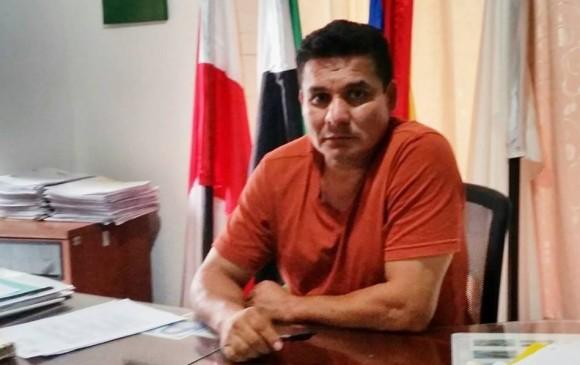 El alcalde de Puerto Asis, Omar Guevara. FOTO puertoasis-putumayo.gov.co