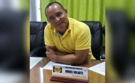 Segundo Rubiel Solarte, concejal del Polo Democrático de Puerto Asís. | Foto: Julián Andrade