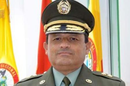 General Jorge Nieto, director de la Policía Nacional.