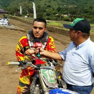 Sebestian Hernandez Campeón Nacional Motocross Cat. Inicio
