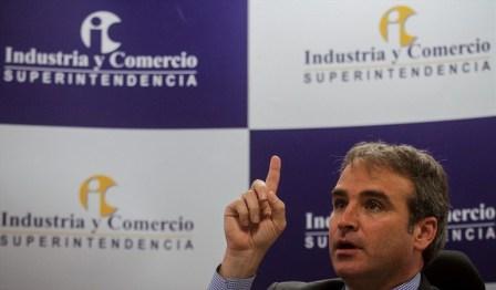 Superintendente de Industria y Comercio Pablo Felipe Robledo. Foto: Colprensa.