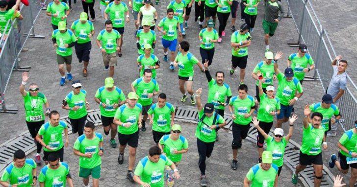 Cerca de 11.500 corredores ya han dejado su huella en el planeta. Este año la Carrera Verde se realizará en Bogotá y Medellín. Cortesía Fundación Natura