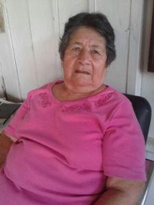 María Encarnación Guerra, habitante del barrio Palermo.