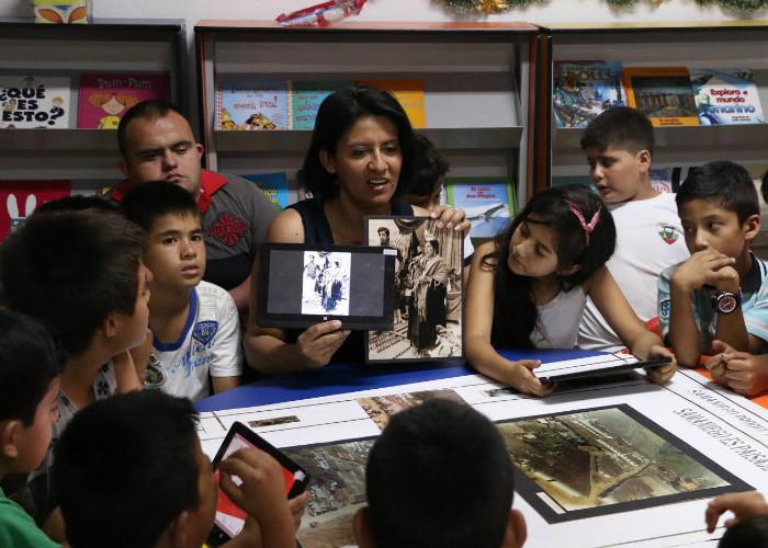 Bibliotecarios colombianos por la paz