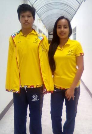 Angie Paola Gomez (Mocoa) y Cristian Alberto Molina(Santiago)