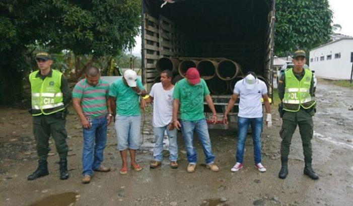Los capturaron con las manos en la masa en zona rural de Orito, Putumayo