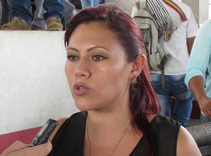 Asamblea del Putumayo separa del cargo a la presidenta Leidy García