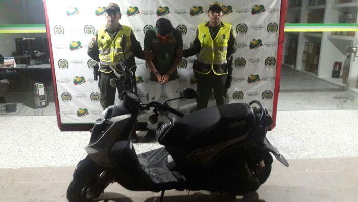 Recuperada motocicleta BWS hurtada en Mocoa