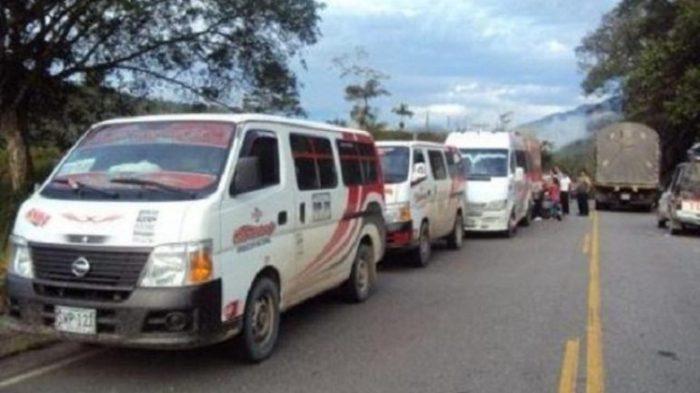 A disparos interceptan bus para asaltar a pasajeros en la vía Mocoa – Pitalito