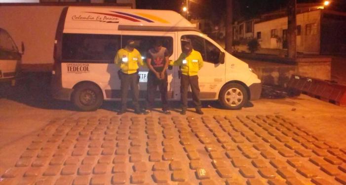 Incautados 308 kg de coca en el Putumayo