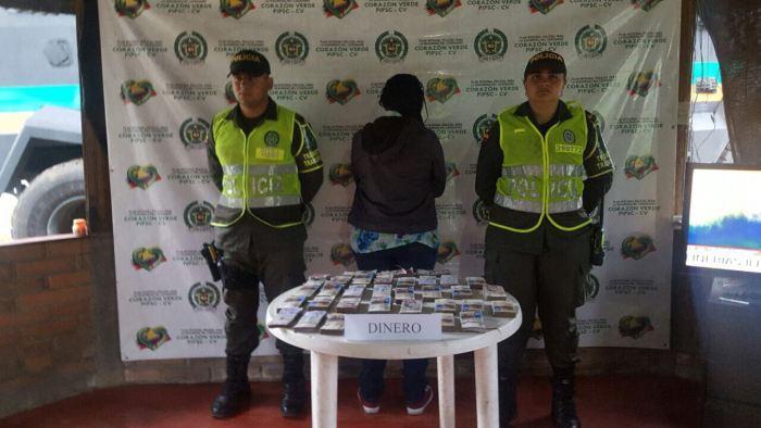 Incautados 170 millones de pesos de dudosa procedencia