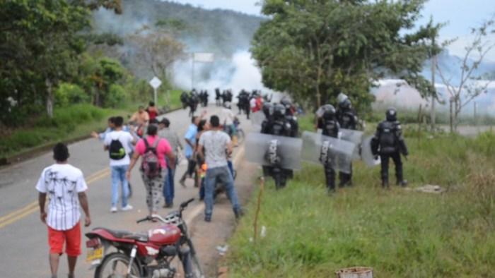 Desalojan A Invasores De Predios Privados En San José Del Pepino De Moco