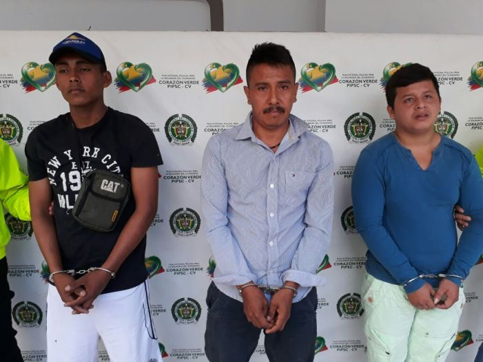 """Capturada banda delincuencial """"Los toldos"""", dedicados al atraco en el putumayo."""