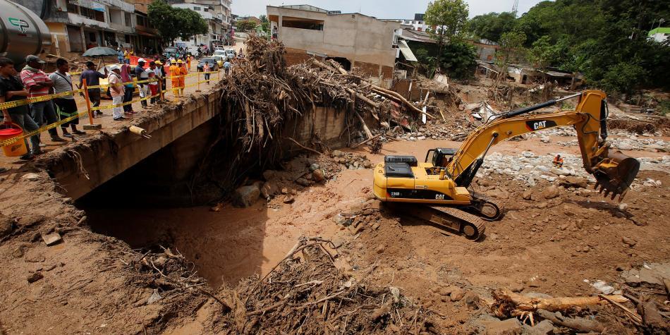 Quince mil millones de pesos serán invertidos en el nuevo acueducto de Mocoa para ayudar a recuperar la ciudad. Foto: Jaime Saldarriaga / REUTERS