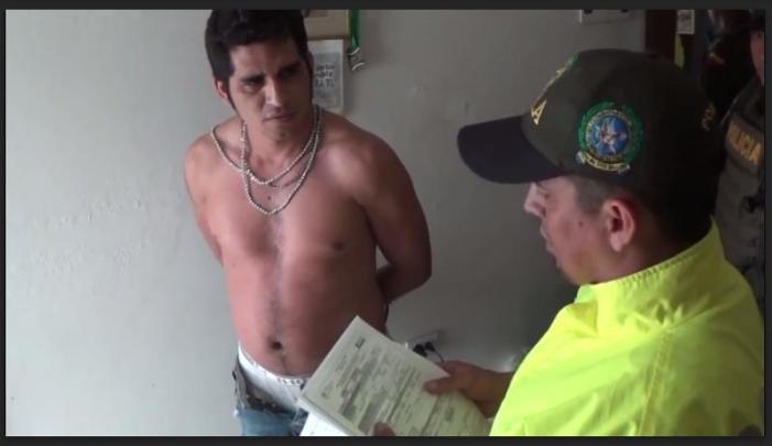 """Capturado integrante de la organización narcotraficante """"La Constru"""""""