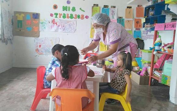 Las clases y los servicios del Instituto Colombiano de Bienestar Familiar (ICBF) volvieron a la normalidad la semana anterior. Y de Estados Unidos llegaron más ayudas. FOTOS COLPRENSA