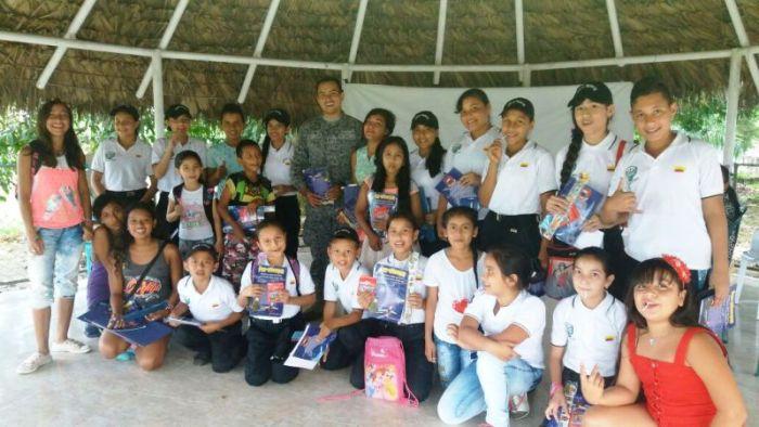 Niños de Orito, Putumayo, participan en actividades en contra del reclutamiento forzado