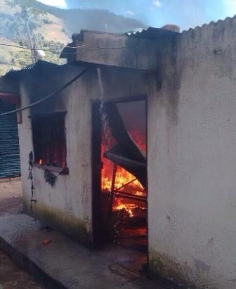 Un hombre murió quemado tras la explosión en un bodega por combustibles en Pasto