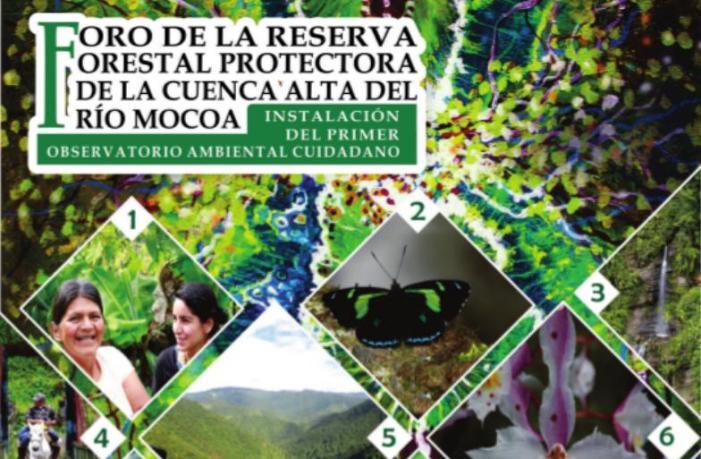 Foro de la Reserva Forestal Protectora de la Cuenca Alta del Rio Mocoa
