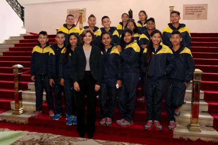 Catorce jóvenes de Putumayo participarán en intercambio de Diplomacia Deportiva en Polonia