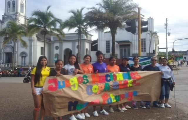 Equipo de Fútbol Femenino de Putumayo tuvo que pedir limosna para representar al departamento en el zonal nacional de la copa Claro