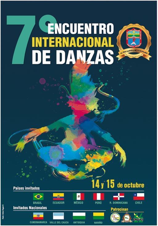 Séptimo Encuentro Internacional de Danzas en Sibundoy