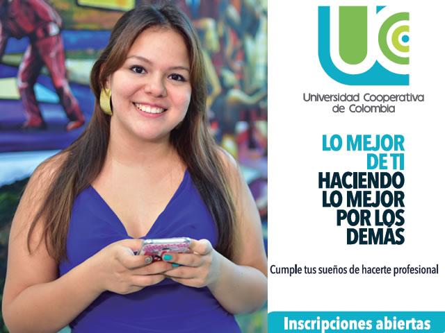 Cumple tus sueños de hacerte profesional. Abiertas las inscripciones en la Universidad Cooperativa de Colombia. Sede Neiva