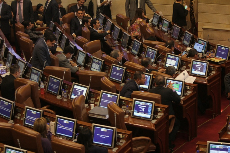 Cámara aprueba en último debate creación de 16 circunscripciones de paz