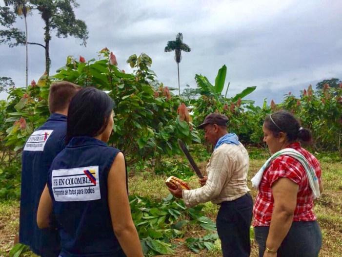 Fe en Colombia, un programa que apoya la tecnificación del campo y preservación del medio ambiente en el sur del país