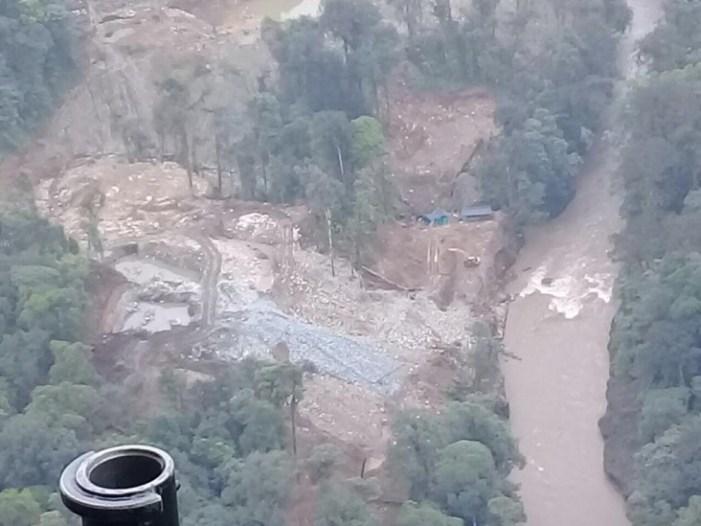 En operación binacional se destruye actividad mineral del Eln en frontera con Ecuador