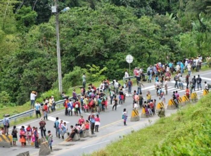 Víctimas del Conflicto armado de cuatro departamentos bloquearán hoy la vía Saldaña-Neiva