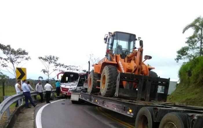 Accidente de tránsito en la vía Mocoa – Puerto Asís