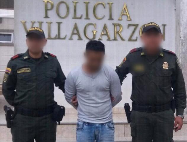 Capturado presunto proxeneta en Villagarzón