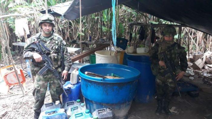 Evitan producción de 4 toneladas de cocaína en el Putumayo