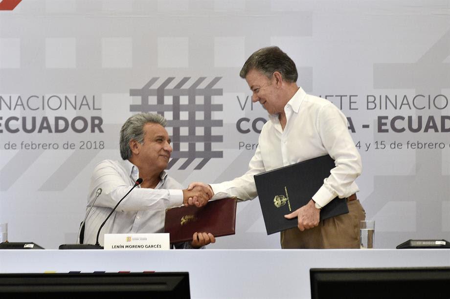 Diálogo entre Colombia y Venezuela sobre atentados cometidos por venezolanos del ELN