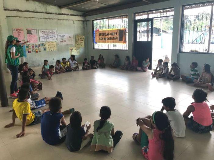 Las familias Putumayenses están presentes contra el trabajo infantil
