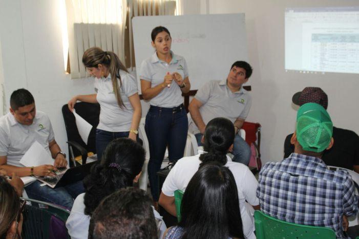 Coordinadores de Alianzas Productivas reciben capacitación