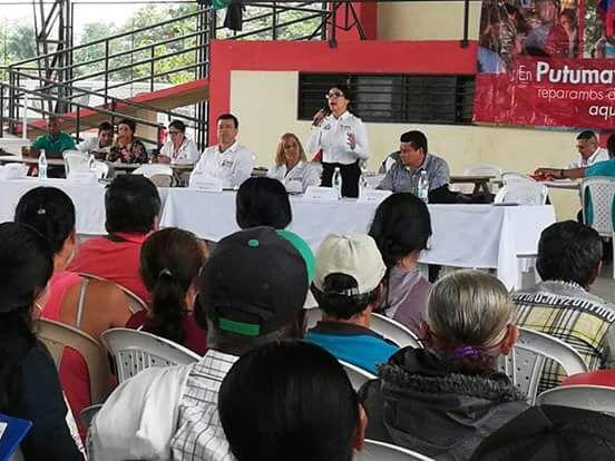 Víctimas de Puerto Asís reciben cartas de indemnización