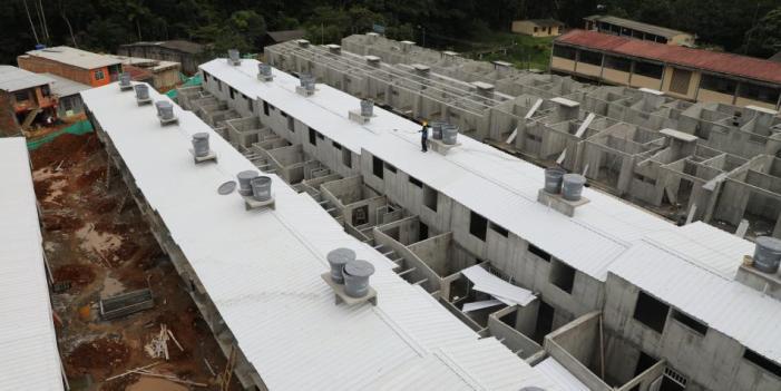 Se sorteó la nomenclatura de primeras 100 casas para familias en Mocoa