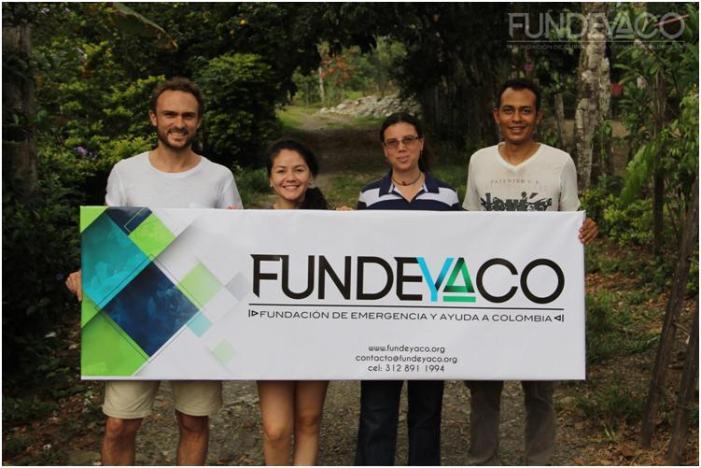 La Embajada de Francia en Colombia y FUNDEYACO le apuntan a la reconstrucción de Mocoa
