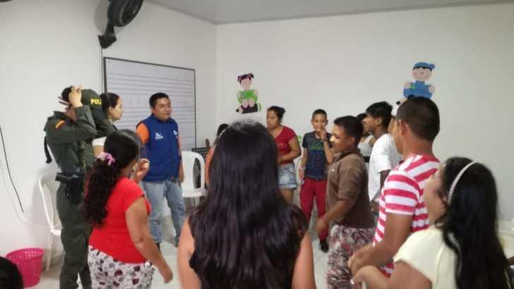 Actividades de Prevención realiza el grupo de Protección a la infancia y adolescencia de la Policía en el Putumayo