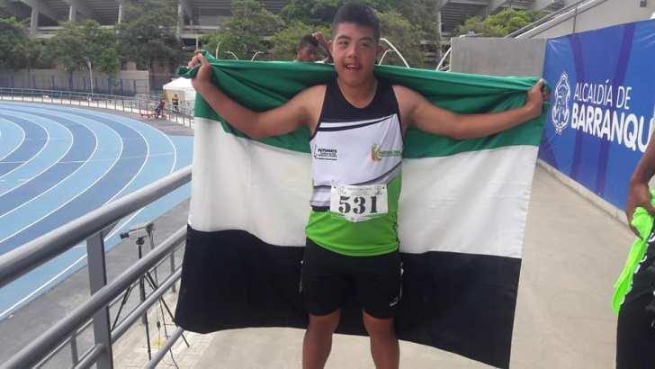 Didier Salcedo, podio Putumayense en el Abierto Nacional de Paradeporte en Barranquilla
