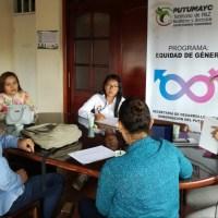 Socialización proyecto para mujeres y población LGBTI en Putumayo