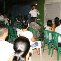 Socialización proyecto Muro de Contención en el barrio Pablo VI de Mocoa