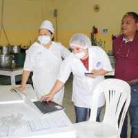 Supervisión higiénico sanitaria PAE en Institución Educativa Pio XII