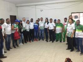 Deportistas en Ajedrez de las diferentes delegaciones de los departamentos de la Orinoquía y la amazonía.