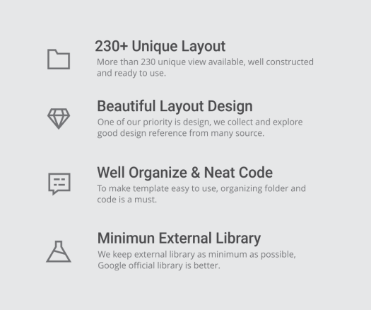 MaterialX - Android Material Design UI Components 2.6 - 4